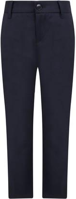 Emporio Armani Blue Pants For Kids