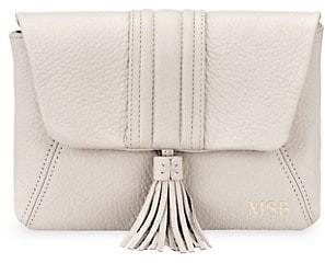 GiGi New York Ava Embossed Leather Crossbody Bag