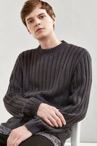 Urban Outfitters Rib Mock Neck Sweater