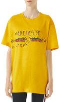 Gucci Coco Capit&225n Print Cotton T-Shirt