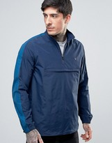 Farah Donnelly Overhead Rain Jacket 2 Color in Navy