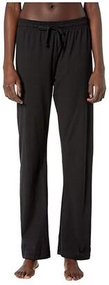 Champion Jersey Pants (Black) Women's Workout