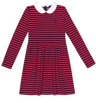 Polo Ralph Lauren Striped stretch-cotton dress