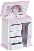 Mele Cristiana Girl's Musical Ballerina Jewelry Box