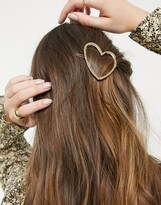 Thumbnail for your product : And other stories & abstract hair clip in gold