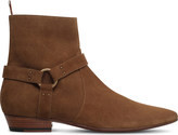 Saint Laurent Devon harness suede boots
