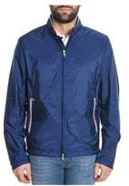 Paul & Shark Men's Blue Polyamide Outerwear Jacket.