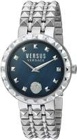 Versus By Versace Women's 'CORAL GABLES' Quartz Stainless Steel Casual Watch, Color:Silver-Toned (Model: SOD130016)