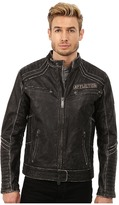 Affliction Renegade Riders Leather Moto Jacket
