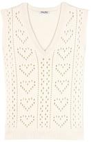 Miu Miu Knitted Cashmere Sweater Vest