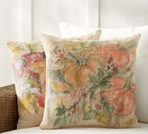 Pottery Barn Foliage Print Indoor/Outdoor Pillow