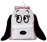 """Snoopy Peanuts 16"""" Belle with Plush Ears Kids Backpack - White"""