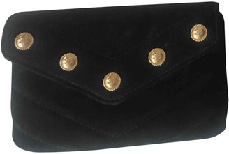 Chanel Black Suede Purses, wallets & cases