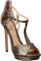 Monique Lhuillier Mirabelle Leather Sandal