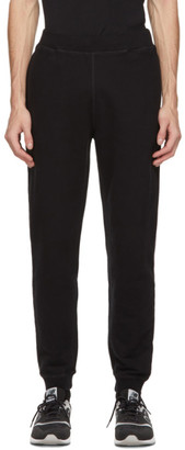 Sunspel Black Loopback Lounge Pants