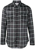 Saint Laurent western plaid shirt - men - Cotton - S