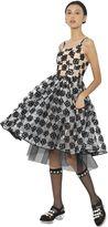 Simone Rocha Embroidered Bonded Plastic Dress