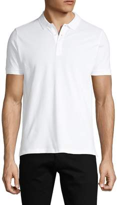 Armani Jeans Short-Sleeve Cotton Polo