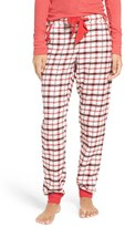Make + Model Women's Plaid Flannel Lounge Pants