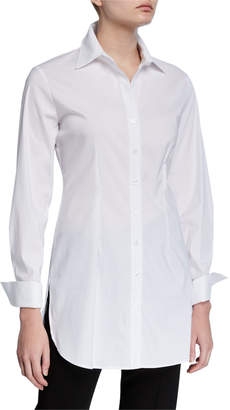Finley Kaylynn Easy Button-Front Tunic Shirt