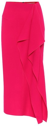 Roland Mouret Exclusive to Mytheresa Wool-crepe skirt