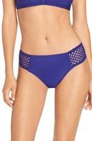 Robin Piccone Mesh Sides Bikini Bottoms
