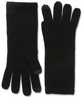 Sofia Cashmere Women's Smartphone Gloves, Black