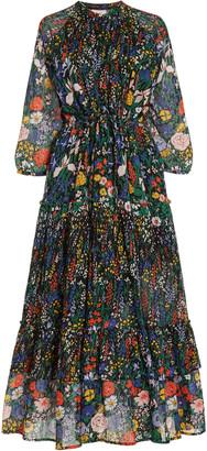 Banjanan Bazaar Floral Cotton Midi Dress