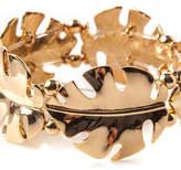 Oasis Palm Leaf Stretch Bracelet