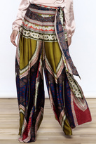 Gracia Ethnic Satin Pants