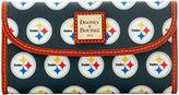 Dooney & Bourke NFL Steelers Continental Clutch