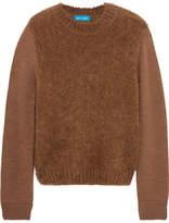 MiH Jeans Dawes Merino Wool-blend Sweater - Brown