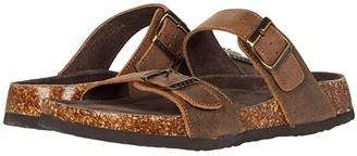 Roper Jezebel (Brown Oiled Vintage Leather 2) Women's Sandals