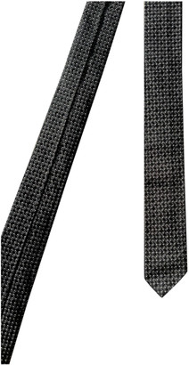 Dolce & Gabbana Black Silk Ties