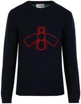 Gucci wasp intarsia jumper
