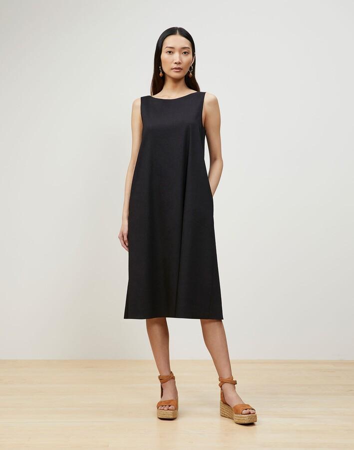 Lafayette 148 New York Petite Hartley Convertible Dress In Aria Linen