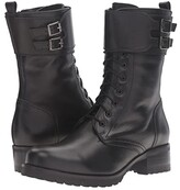 La Canadienne Clair (Black Leather) Women's Lace-up Boots