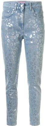 Chiara Ferragni Leopard Print Skinny Jeans
