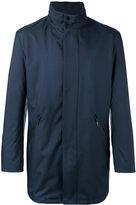 Giorgio Armani single breasted coat - men - Polyamide/Polyester - 50