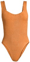 Hunza G Northern Soul Classic Knit One-Piece Swimsuit