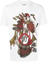 Maison Margiela equestrian print T-shirt