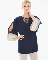 Chico's Blocked Sleeve Tunic
