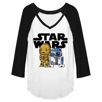 Star Wars Junior's Women's Fashion Ranglan Top