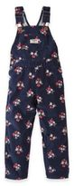 Osh Kosh Floral Overall in Navy