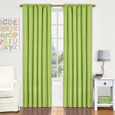 Eclipse Curtains Eclipse Kids Kendall Blackout Thermal Curtain Panel,Lime,63-Inch