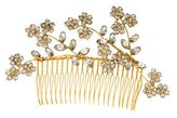 Jennifer Behr Crystal-Embellished Hair Comb