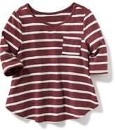 Old Navy Striped Pocket Top for Toddler