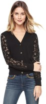 Juicy Couture Outlet - LACE MIX CARDIGAN