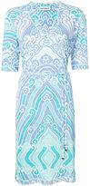 Leonard printed V-neck dress - women - Viscose - 36