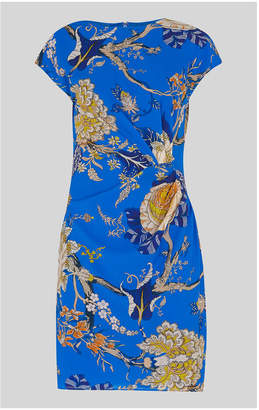 Whistles Exotic Floral Silk Bodycon